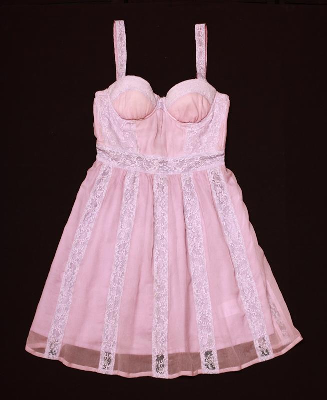 Как сшить платье с чашечками на косточках 98