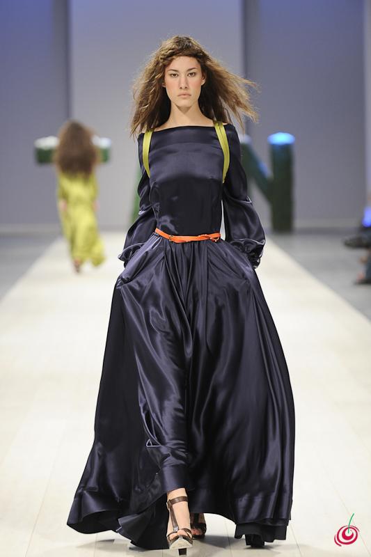 Шелковое Фиолетовое Платье 89